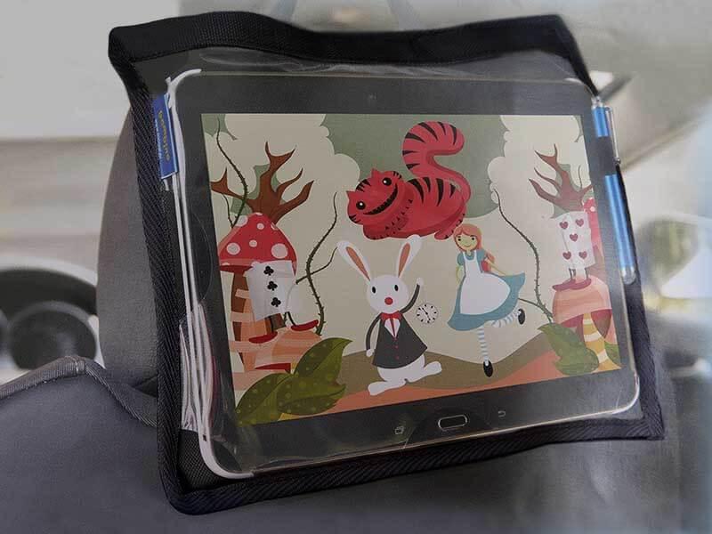Mały organizer samochodowy na tablet, uchwyt OS11
