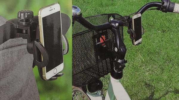 Uniwersalny uchwyt na telefon do wózka i roweru