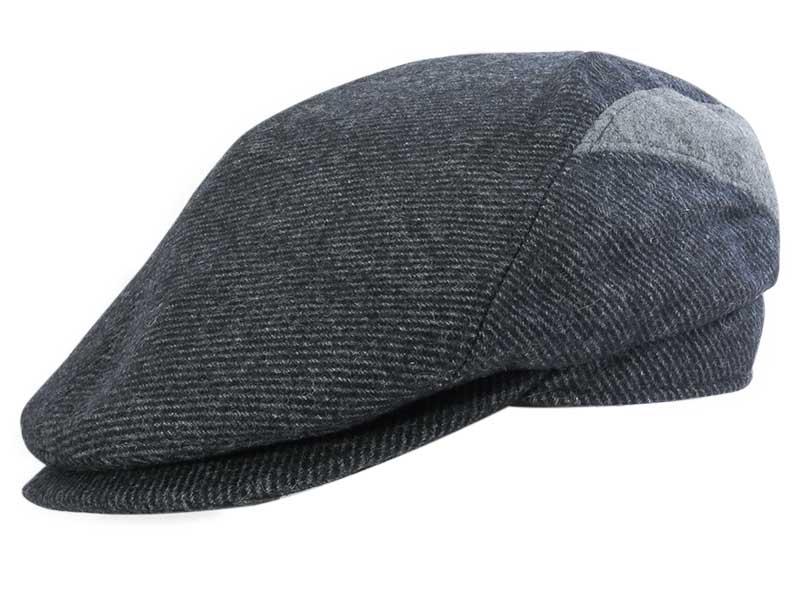Antracytowy kaszkiet/czapka męska G23