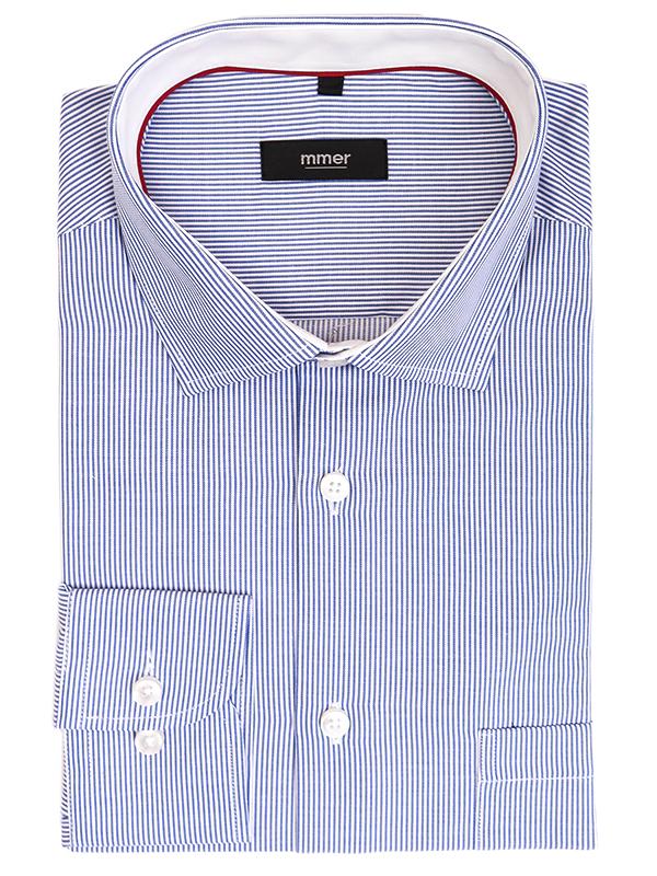 Koszula Mmer w niebieskie prążki 528