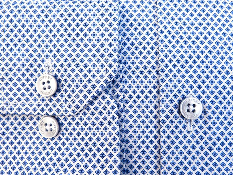 Koszula w unikatowy wzór - kwiatki 850