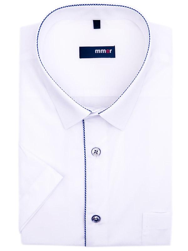 Biała koszula krótki rękaw 924K REG