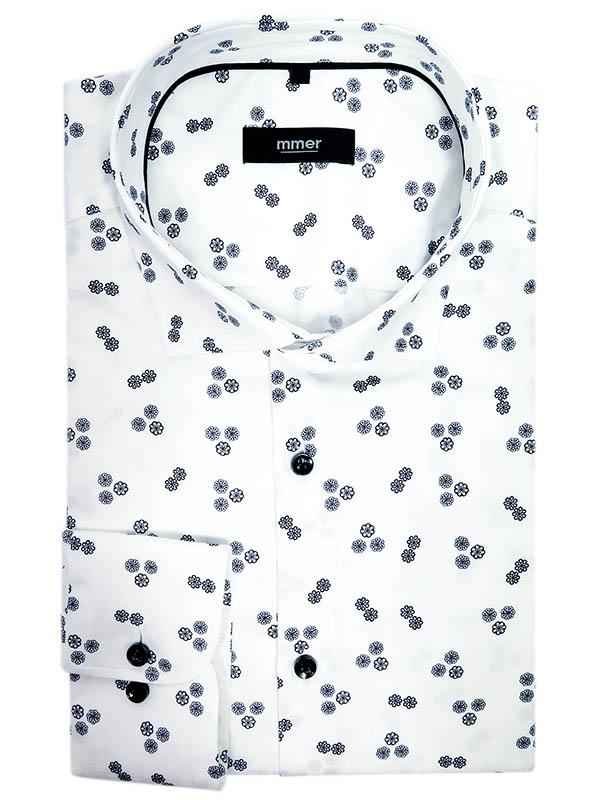 Koszula w kwiatki Mmer A091
