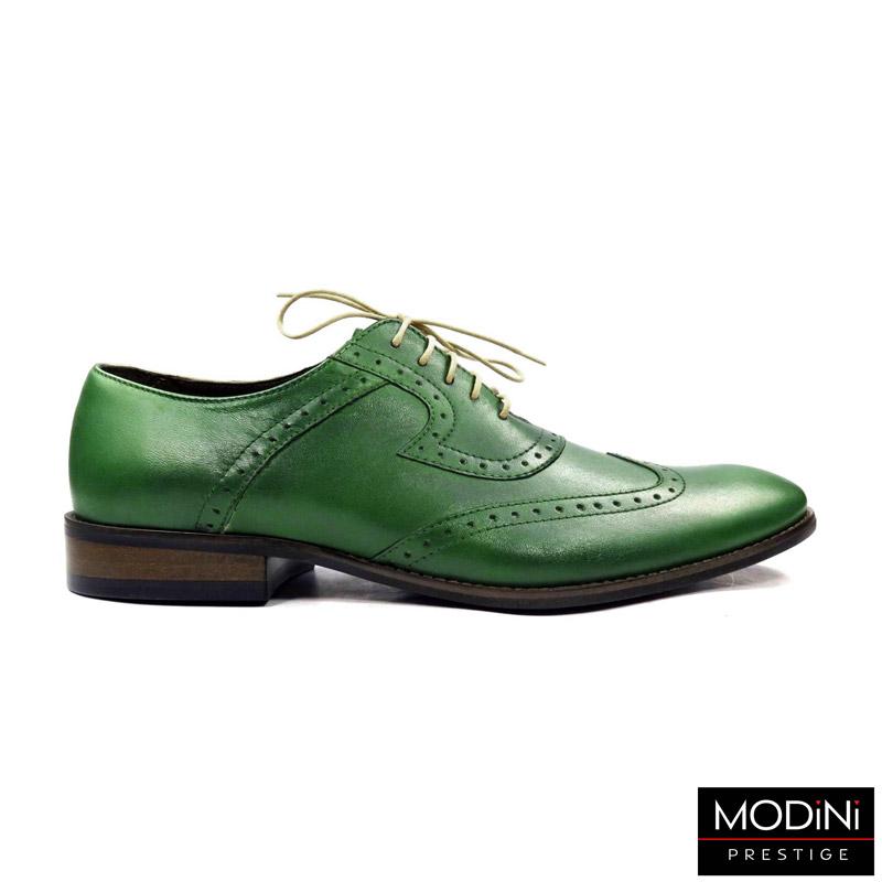 zielone wizytowe buty męskie