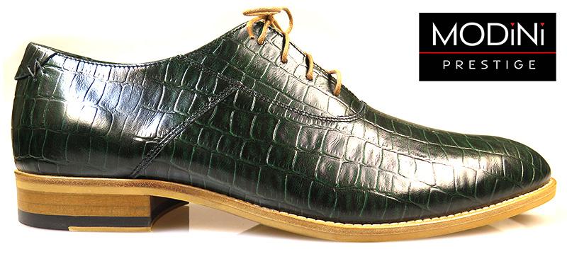 Zielone Buty Meskie Imitacja Skory Krokodyla Sklep Internetowy Modini Pl