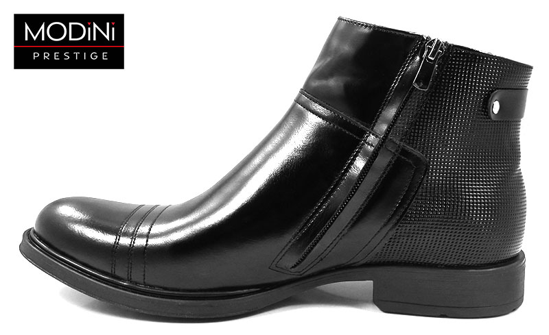 Czarne buty zimowe T75