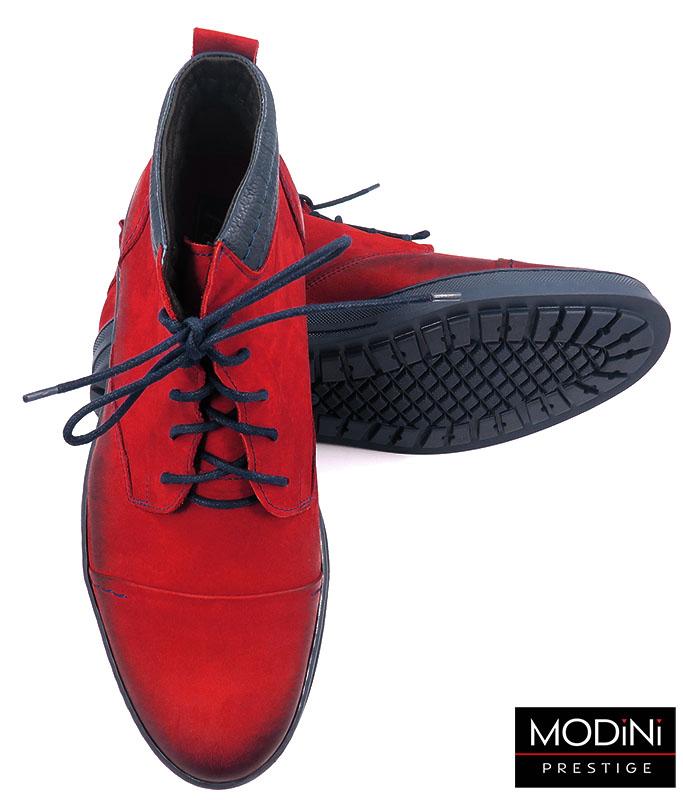 Czerwone buty zimowe T64