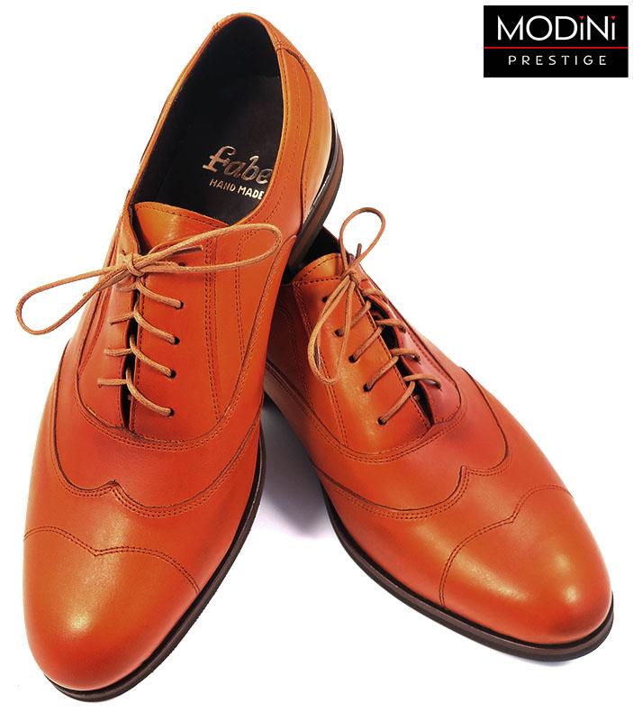 Oryginalne pomarańczowe buty męskie T74
