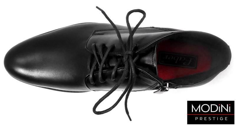 czarne obuwie zimowe na zamek