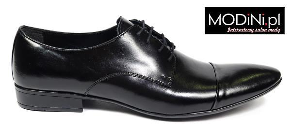 Czarny buty męski