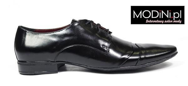 czarne męskie buty