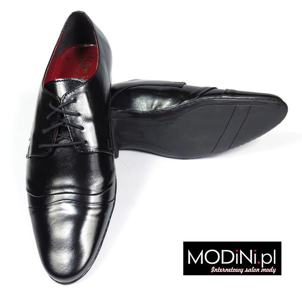Czarne buty Gino Vertucci