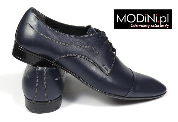 Granatowe obuwie Gino Vertucci