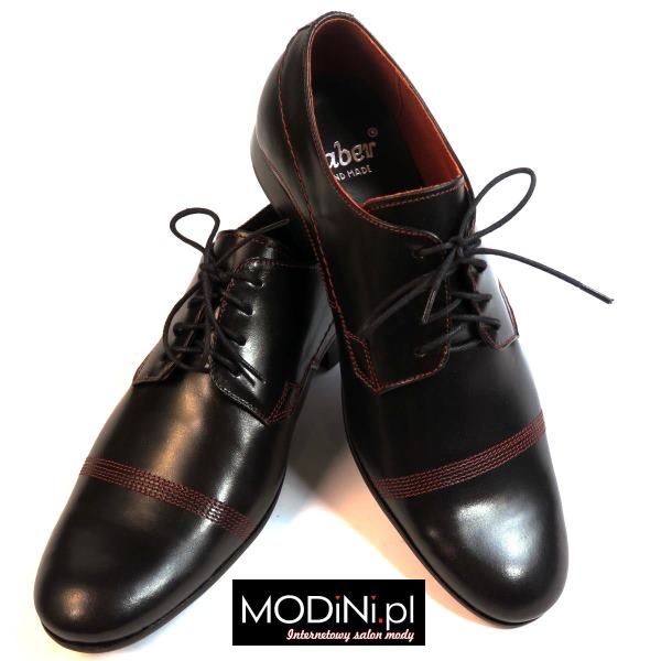 Czarne obuwie faber