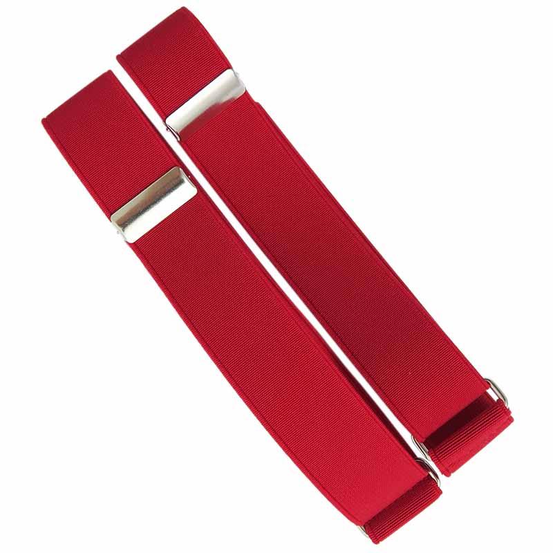 Czerwone opaski do rękawów koszuli X8