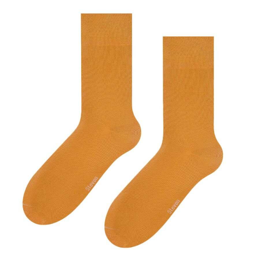 Skarpety męskie w kolorze musztardowym SK230