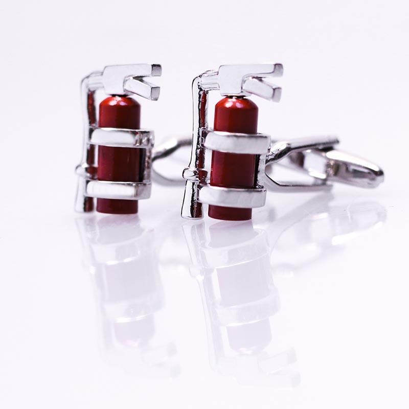 Spinki do mankietów gaśnice - dla strażaka A75
