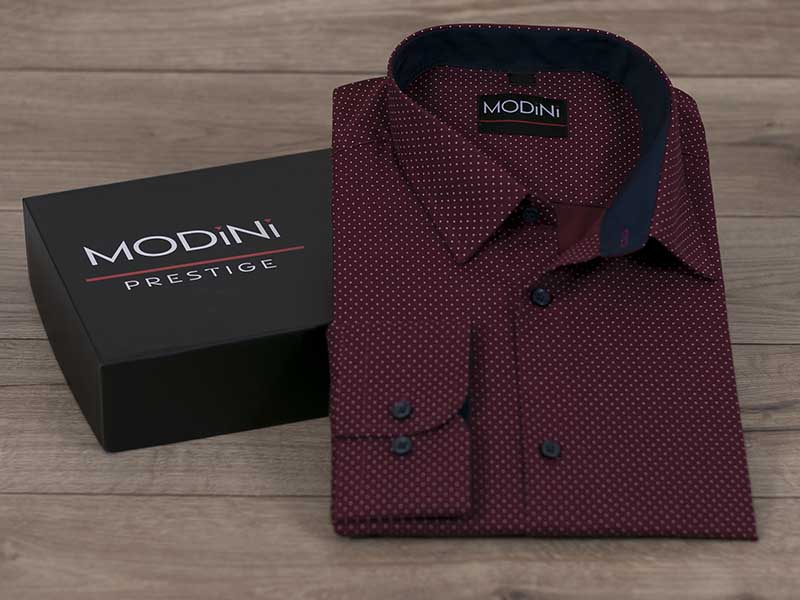 Koszula sprzedawana w folii - bez kartonika;