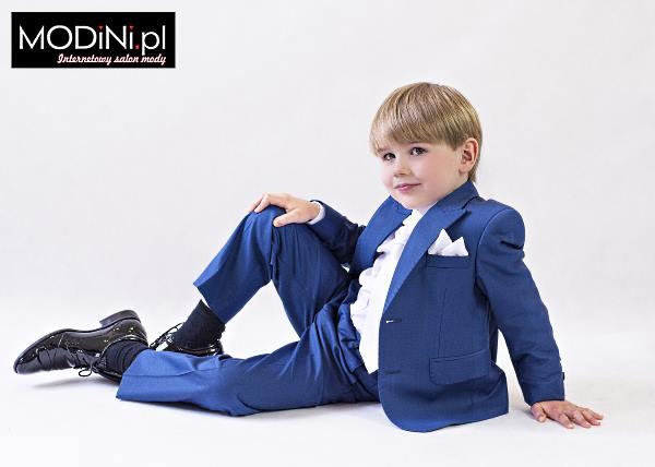 a7c1c090cd Niebieski garnitur dziecięcy