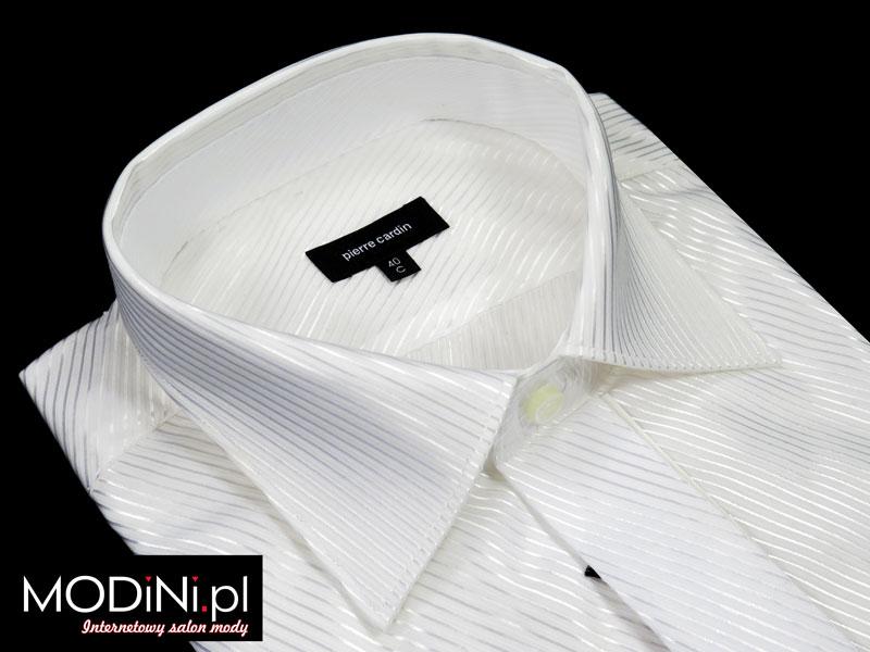 7ddad832c202c Biała koszula ślubna Pierre Cardin | Sklep Internetowy Modini.pl