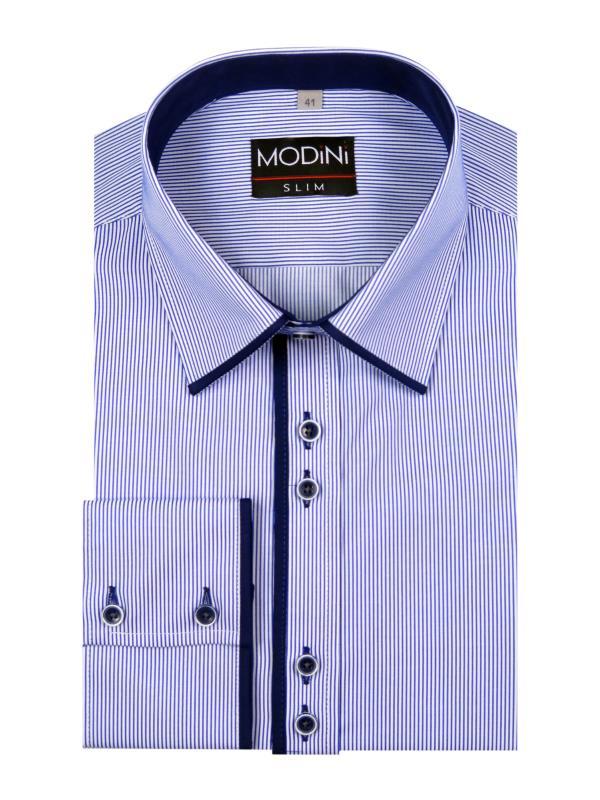 Koszula męska w prążki