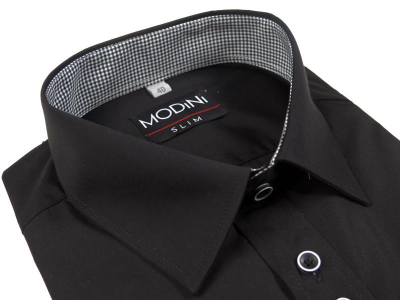 Czarna koszula Modini