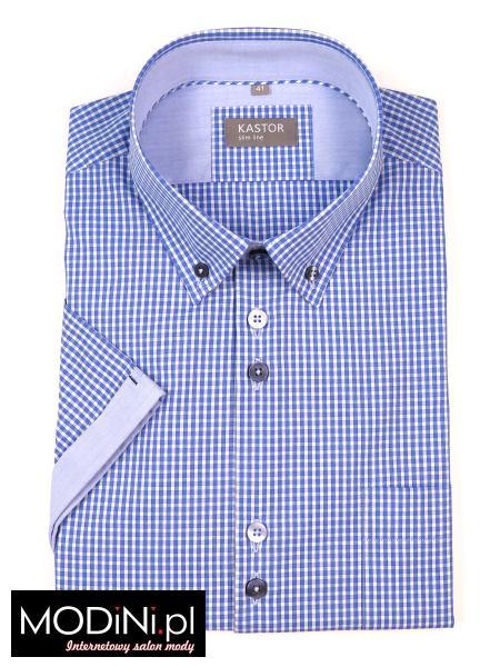 Koszula krótki rękaw w kratę