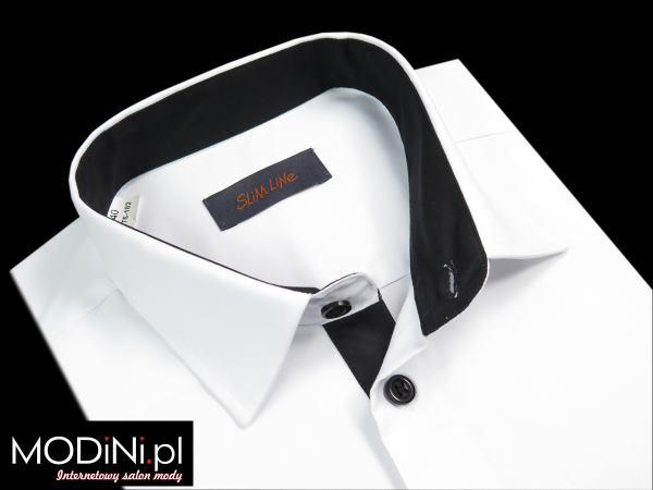 Biała koszula męska Polanex