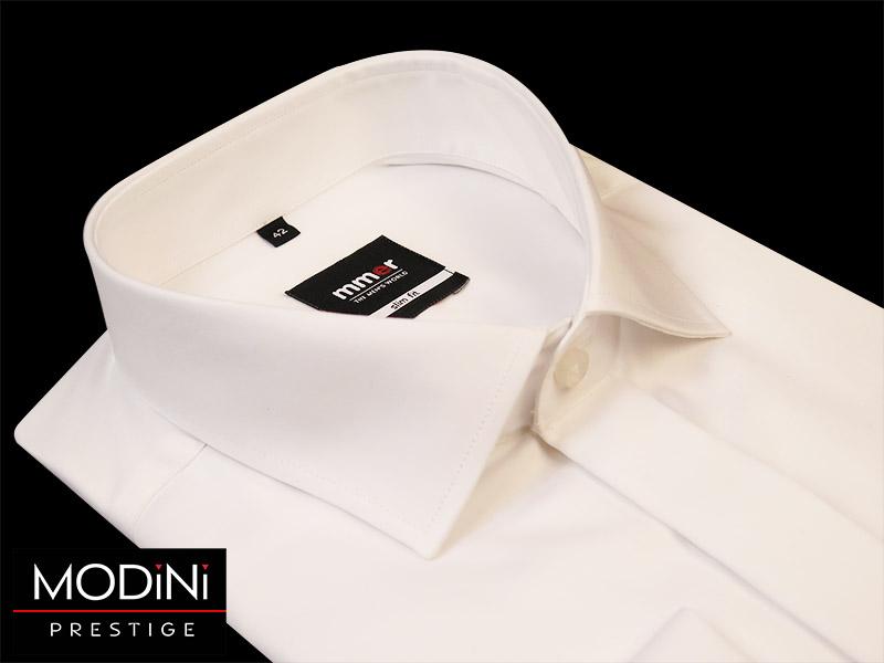 Biała koszula na spinki Mmer 100% bawełny 63