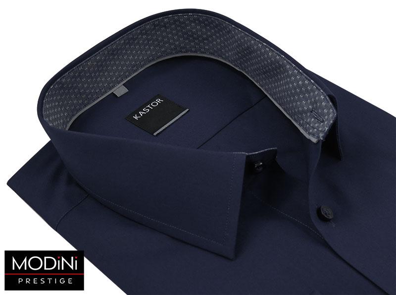 Granatowa koszula męska Kastor K25