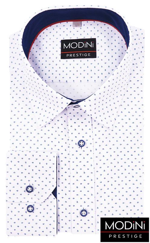 Biała koszula w łezki A20