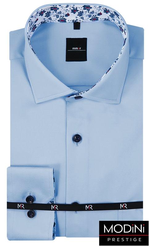 Błękitna koszula męska 466