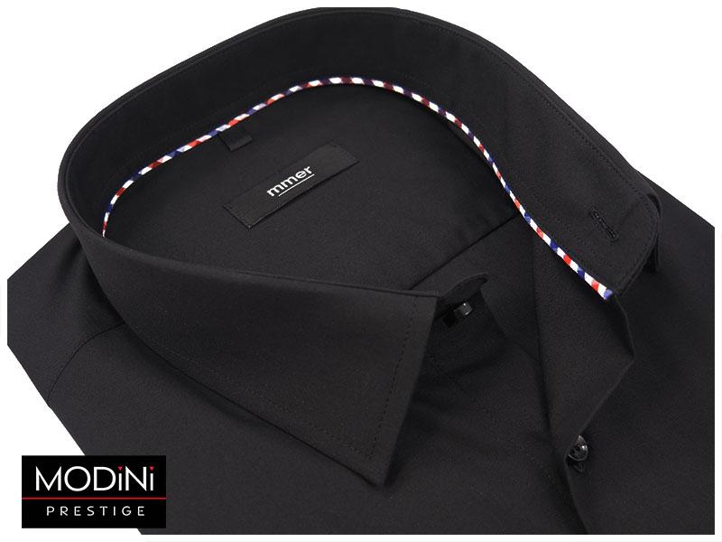 Czarna koszula na krótki rękaw 006