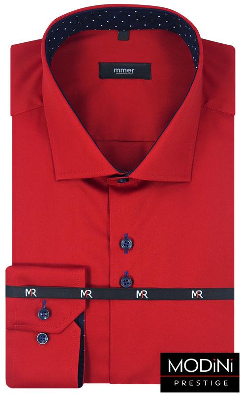 Czerwona koszula męska 404N