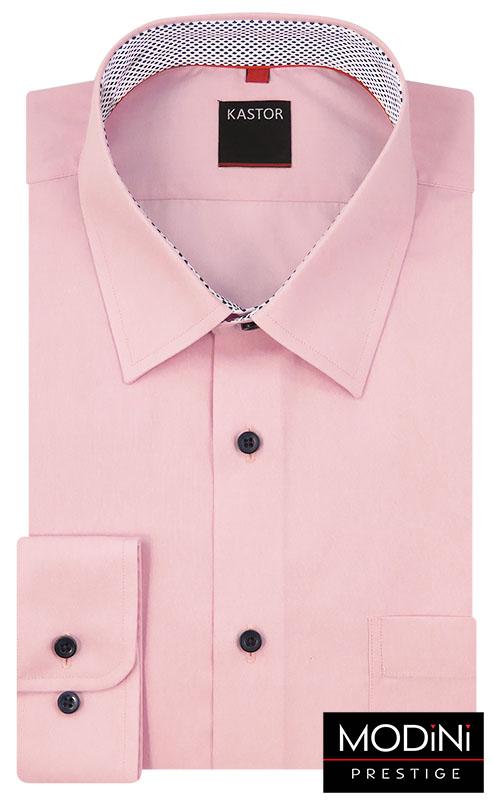 Elegancka różowa koszula
