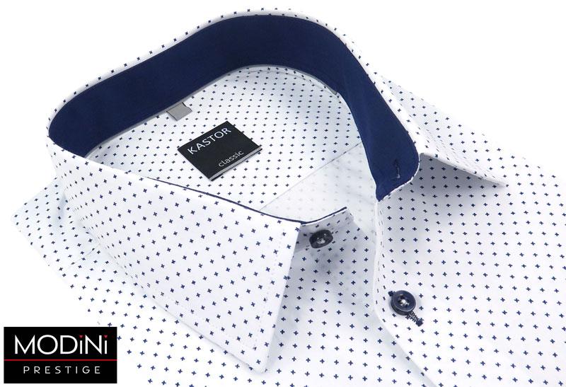 koszula męska wzór w krzyżyki kastor