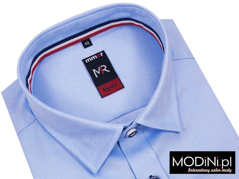 Błękitna koszula męska