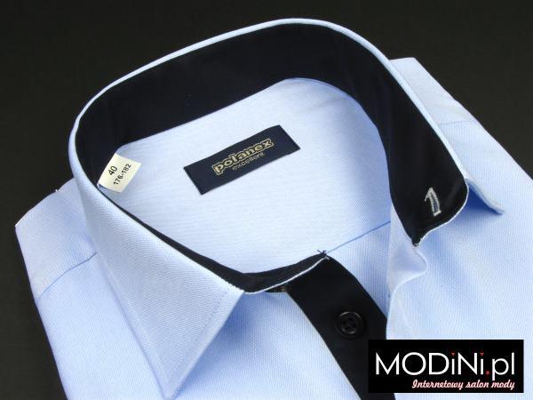 Błękitna koszula Polanex