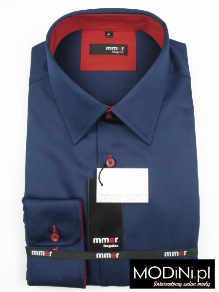 Granatowa koszula Mmer