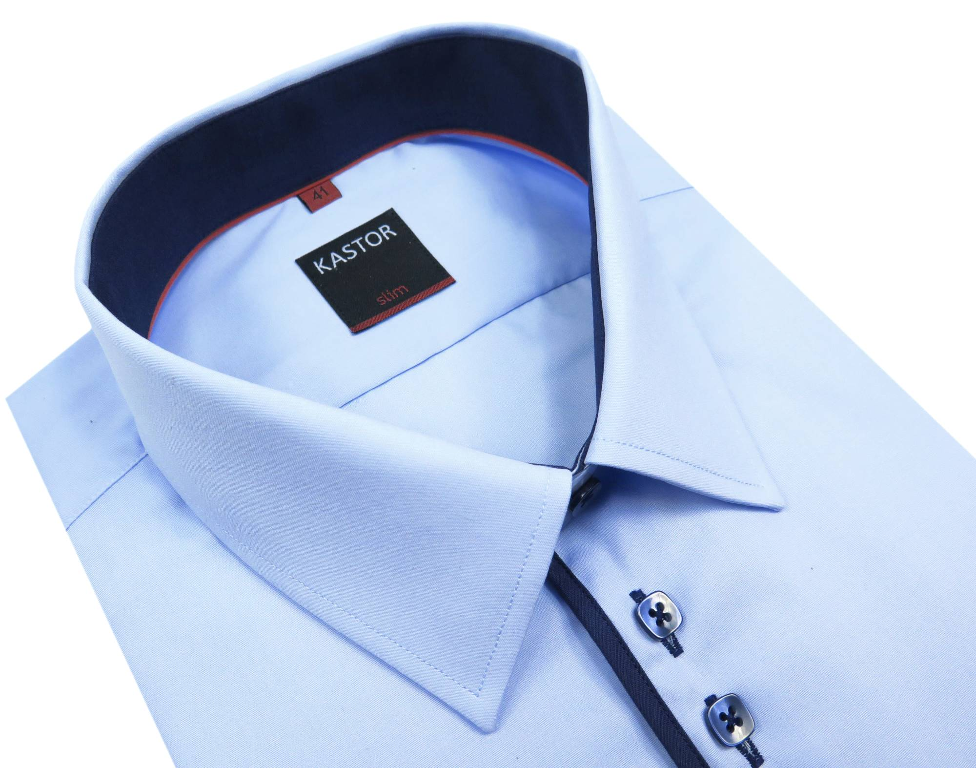 Błękitna koszula KAstor