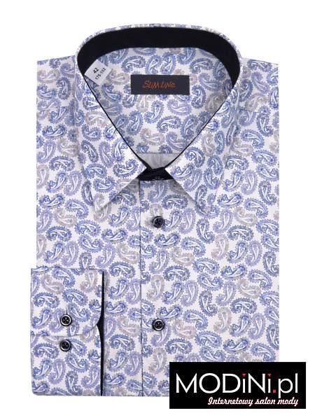 Koszula Polanex w modny wzór Paisley
