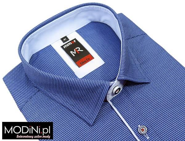 Niebieska koszula Mmer