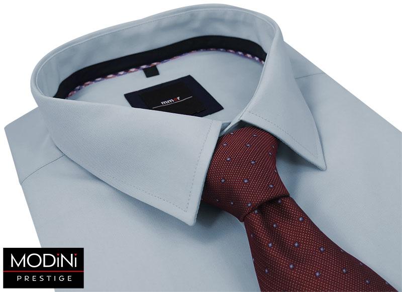 Bordowy krawat męski w drobne kwadraciki D43