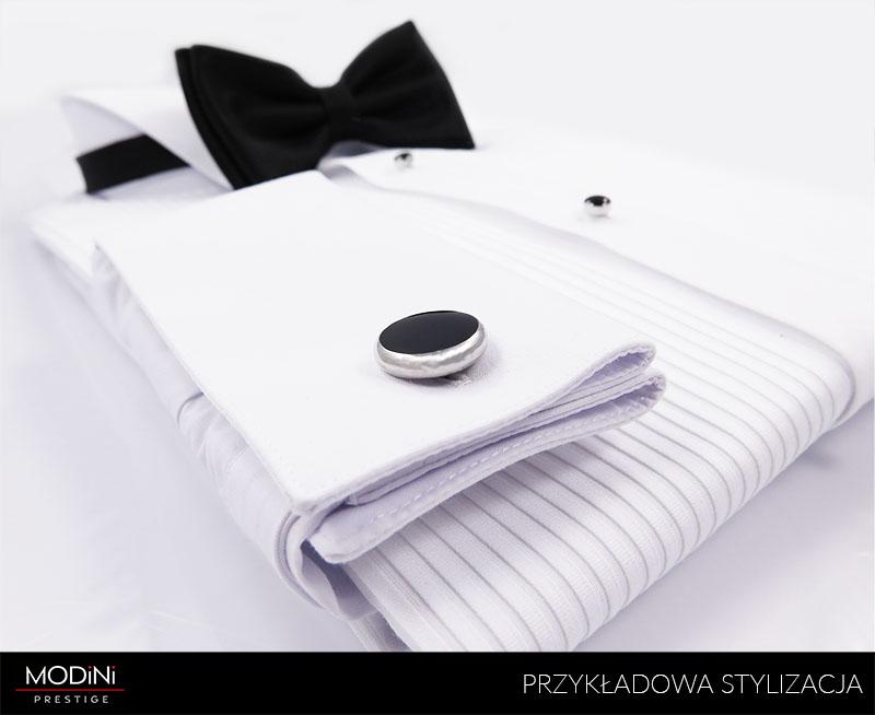 Biała koszula smokingowa