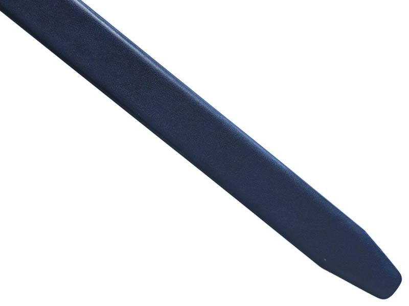 Granatowy męski pasek - automatyczna klamra P45