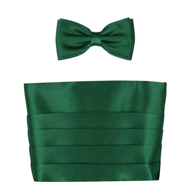 Zielony pas smokingowy XXL