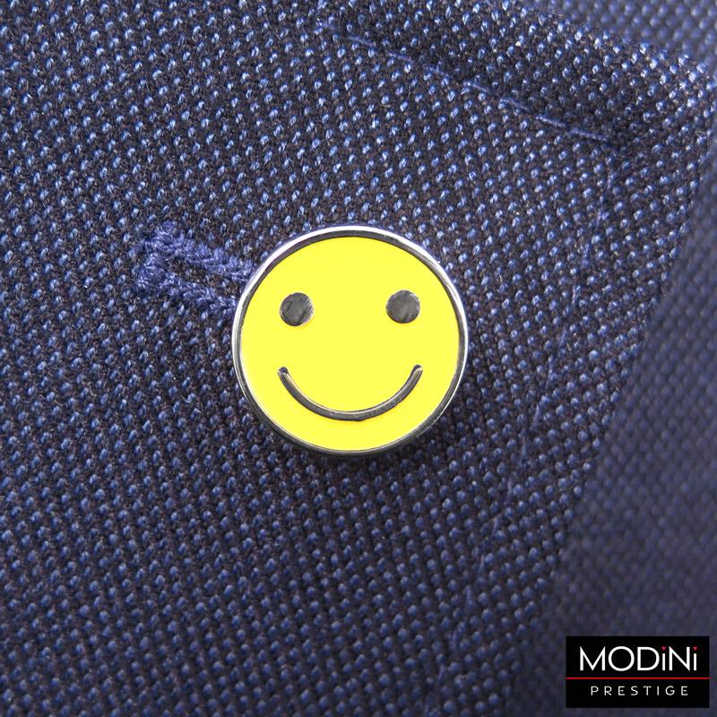wpinka do butonierki - uśmiech