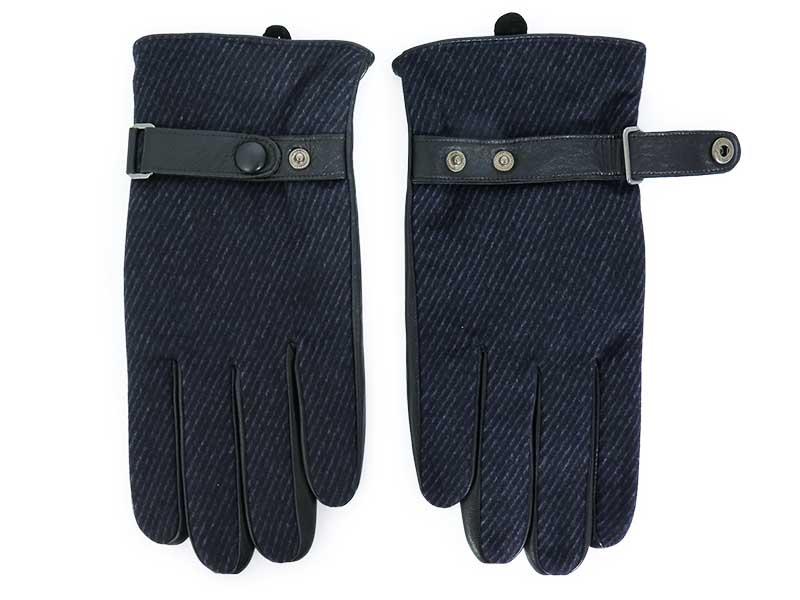 Skórzane rękawiczki męskie R4