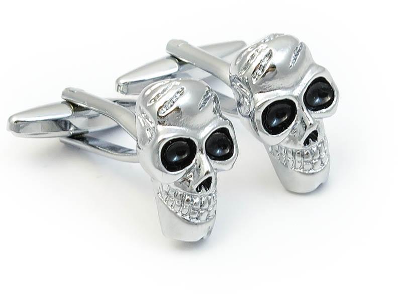 Spinki do mankietów - czaszki A144