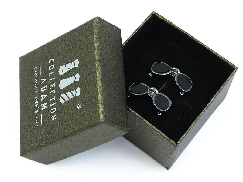 Spinki do mankietów - okulary A160